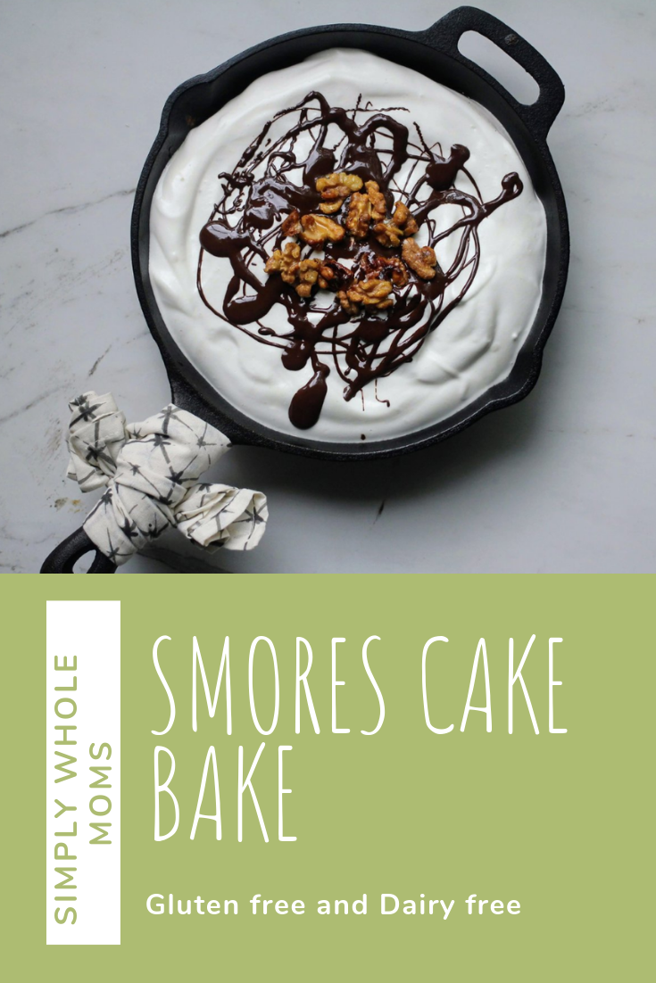 Looking for a unique yummy dessert that meets all the camping feels. This dessert is #glutenfree and #dairyfree