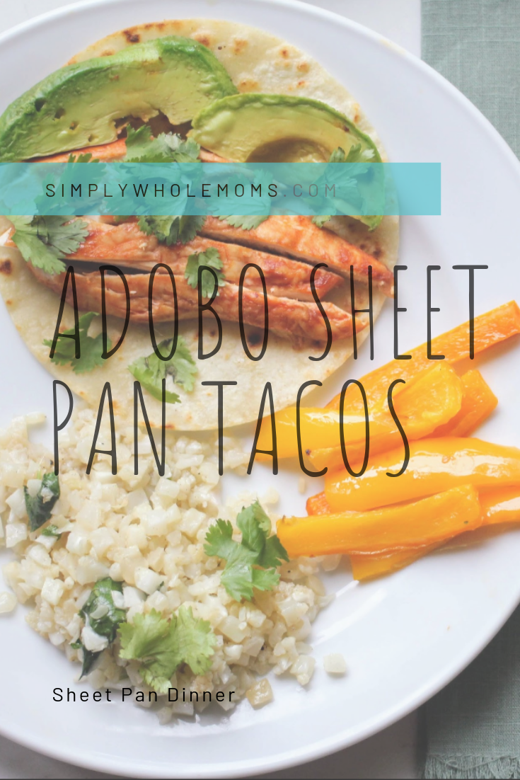 Easy taco sheet pan dinner! My kids love it and it take no effort to make.