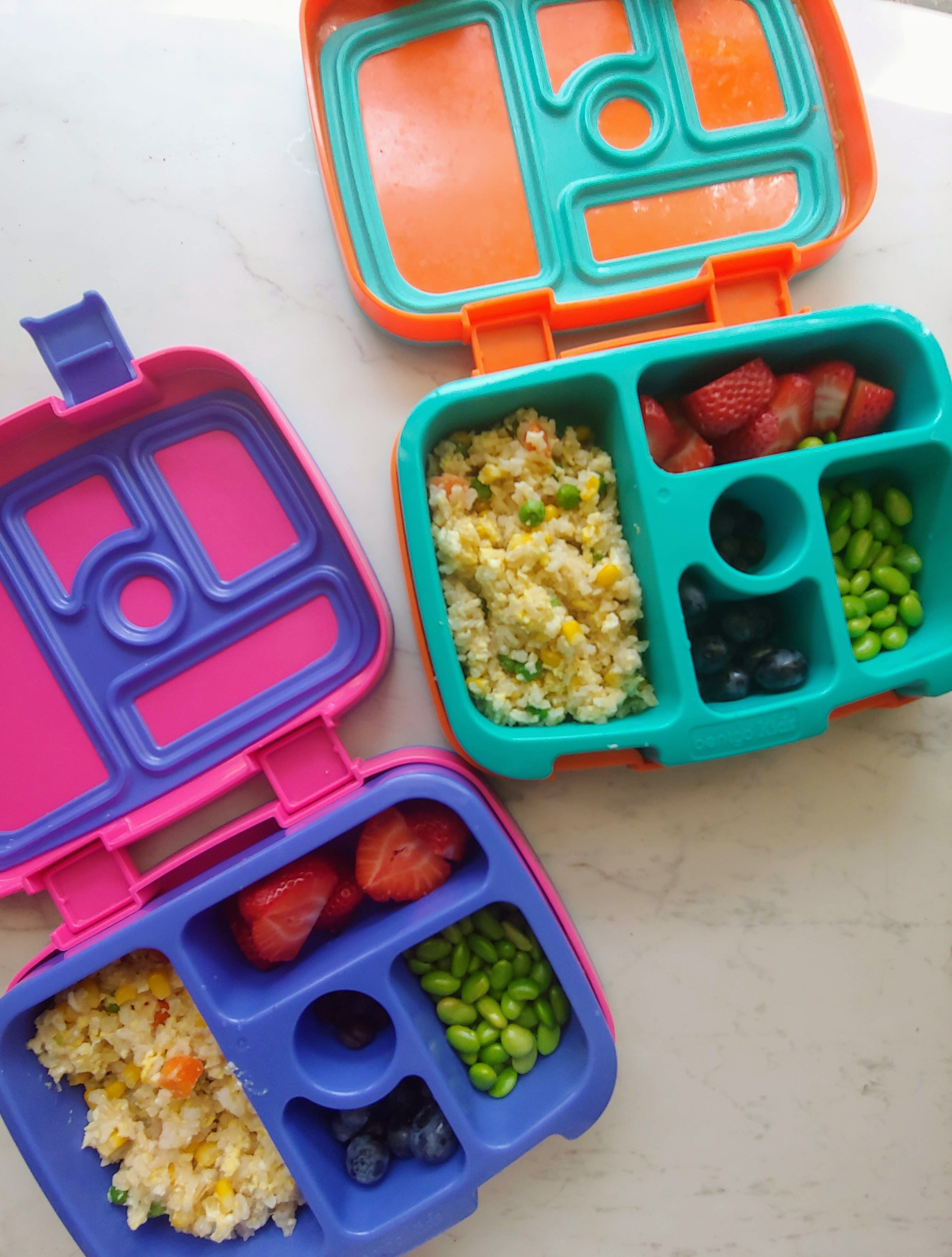 simple healthy lunchboxes