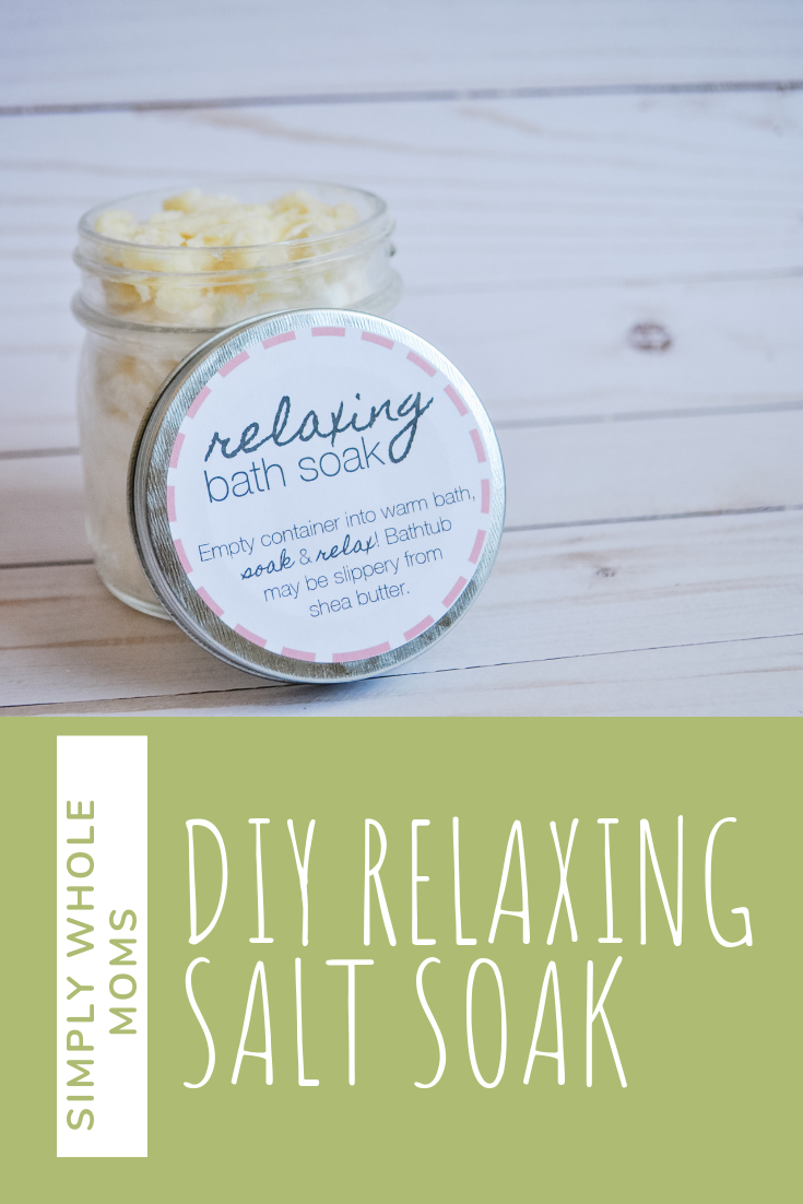 bath soak diy