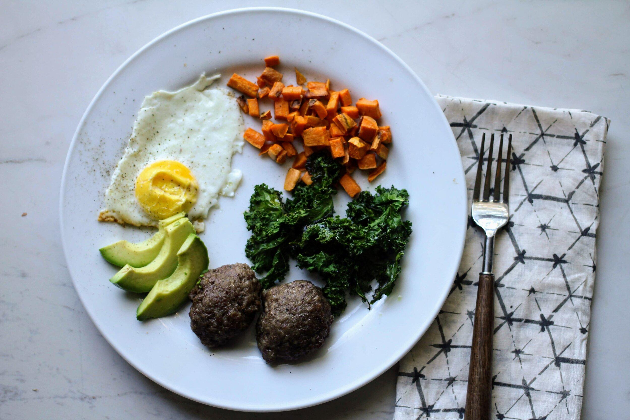 simple  breakfast for dinner recipe