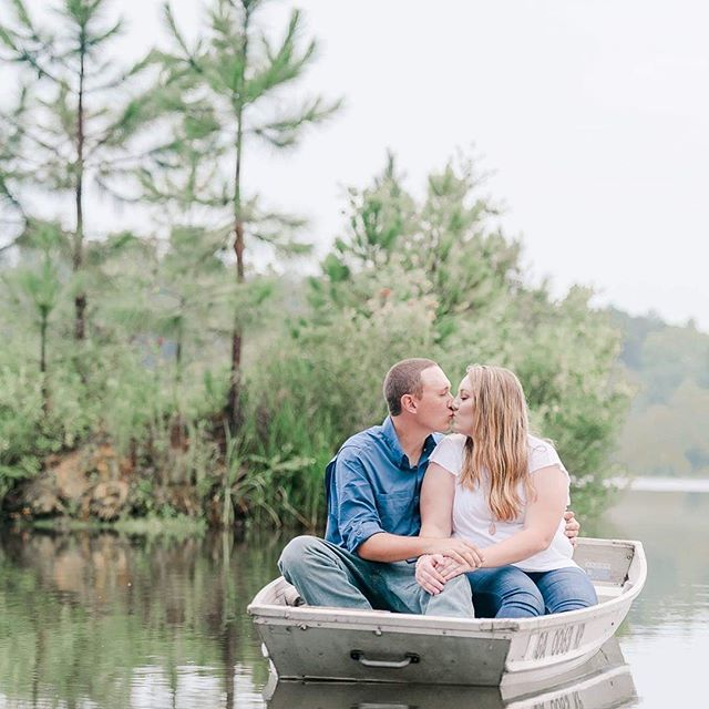 HAPPY WEDDING WEEK// It's wedding week for Ansley + Kyle! I am soo excited to see them and meet their families and friends. Y'all pray for some good weather for us all! Though they say a little rain is a good sign on your wedding day. 😁 . . . #gaengagementphotographer  #albanygaphotographer  #sylvestergaphotographer  #gaweddingphotographer  #engagementphotos