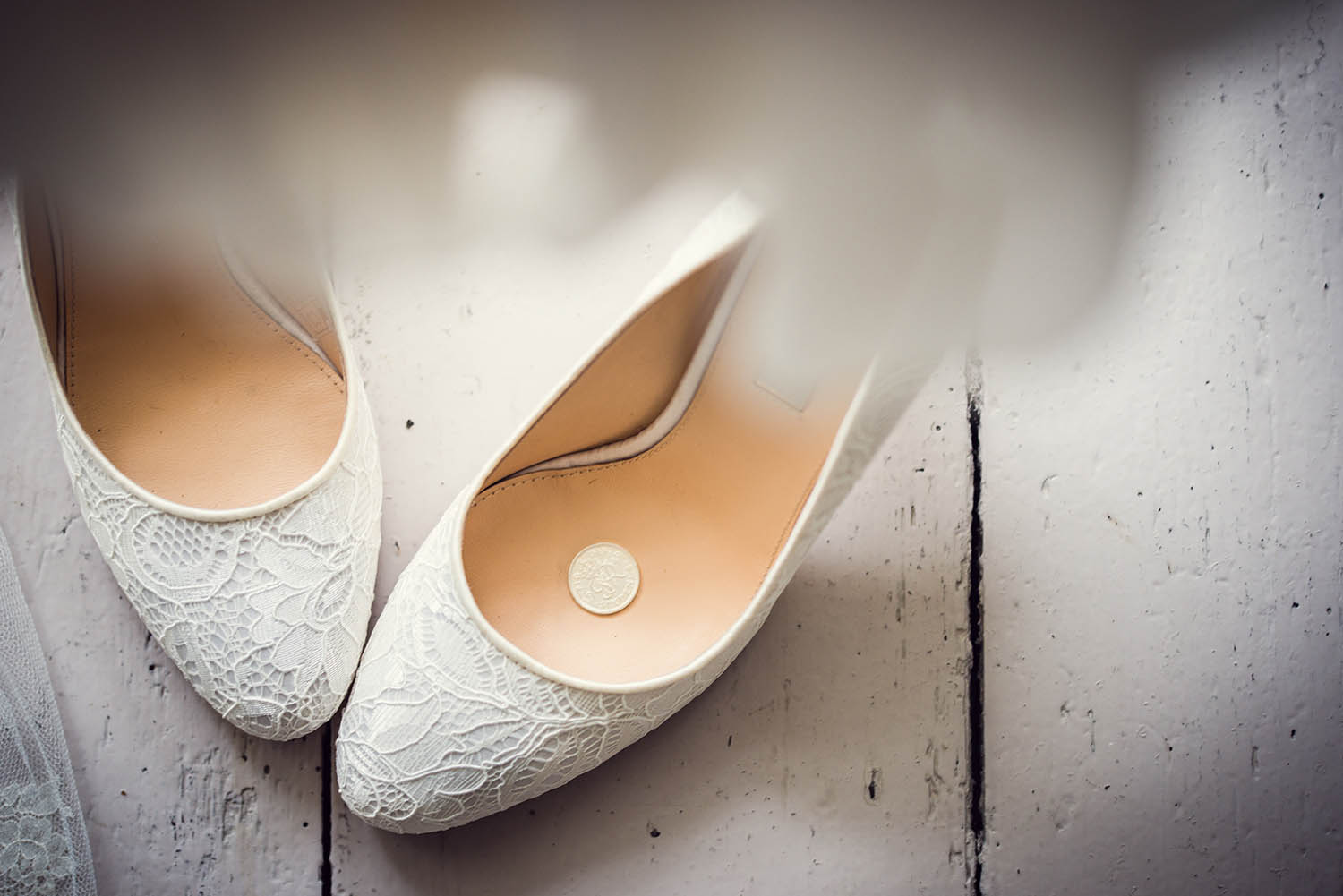 Wedding day shoes. Little details make great photographs.