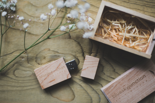 A Wooden USB Drive - Your images will be beautifully and subtly edited, saved onto a memory stick and posted to you. There are no copyrights or other catches... They are your images to use and share as you wish. From a full day you will usually get around 450 images in total.