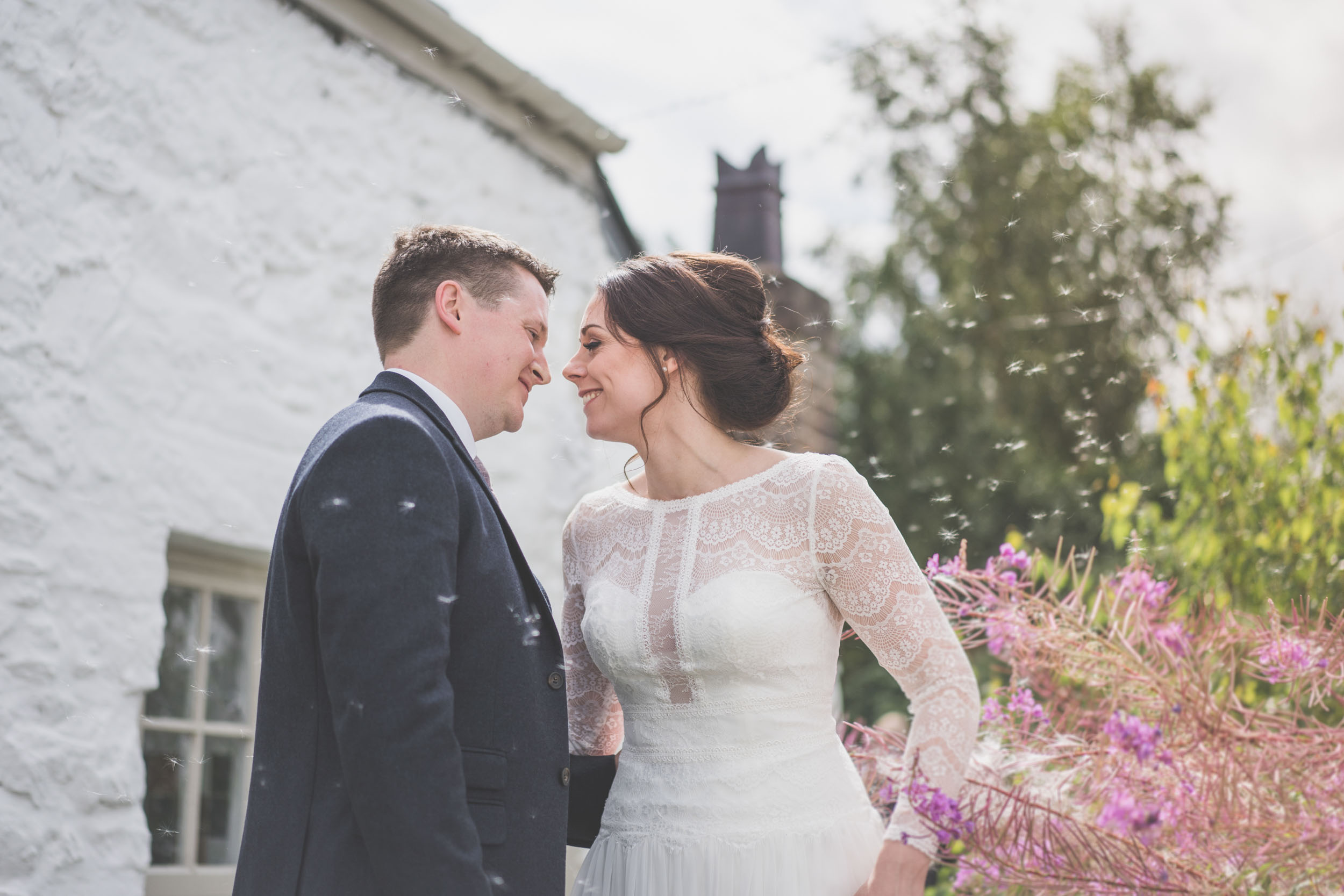A perfect little intimate moment Post wedding ceremony in North Wales