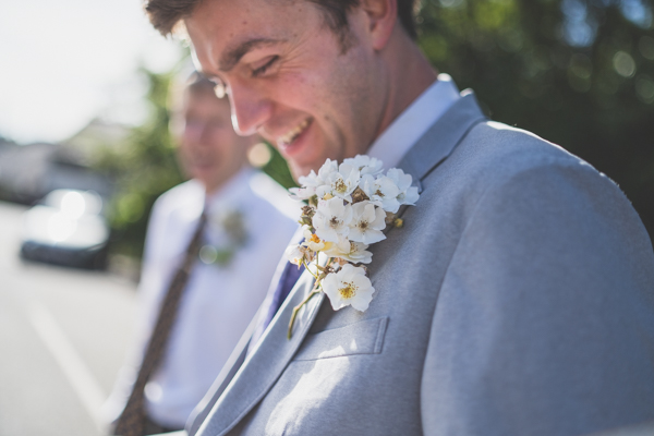 A relaxed and cool groom - North Wales wedding photography