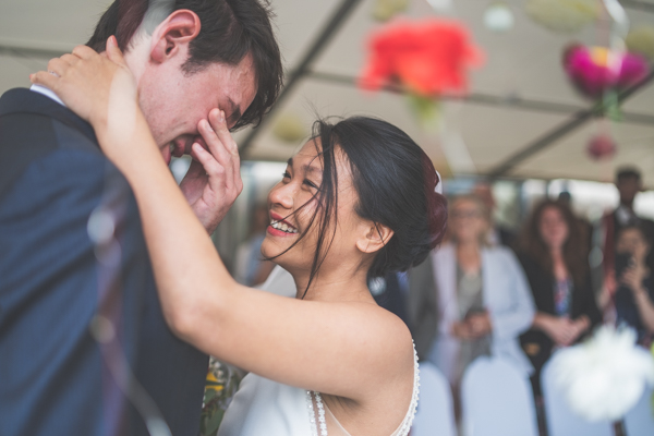 Tears, smiles and a whole lotta love at this beautiful Welsh wedding. Photography of natural emotions and real moments.