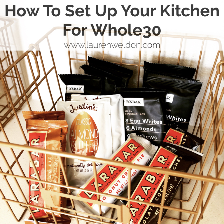 How To Set Up Your Kitchen For Whole30