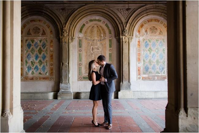 A Central Park Engagement Session by Deborah Zoe Photography.