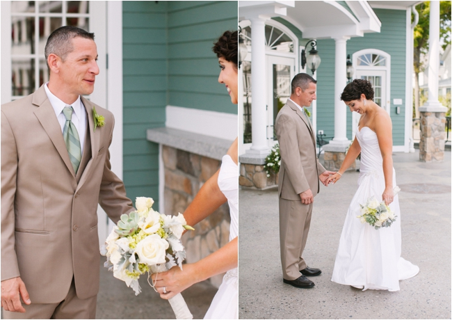 Choosing a First Look or Traditional Reveal by Deborah Zoe Photography.