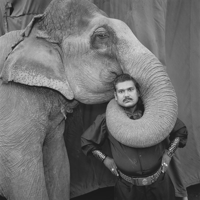 Mary Ellen Mark, Indian Circus.
