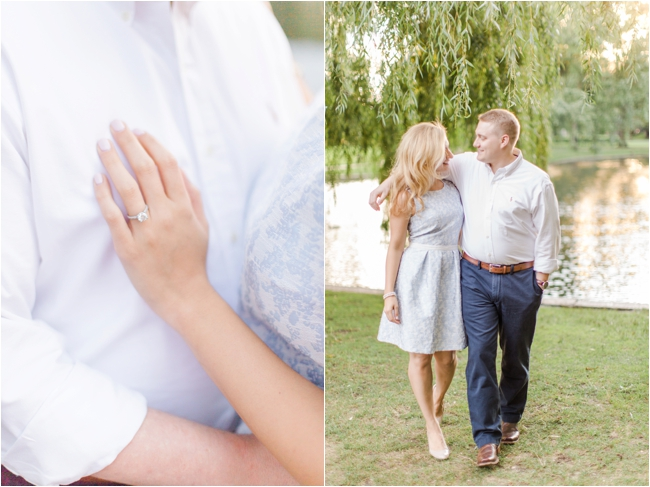 A Beacon Hill Engagement Session by Deborah Zoe Photography.