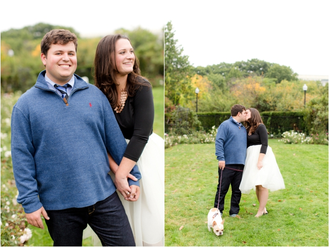An downtown Boston engagement session by Deborah Zoe Photography.
