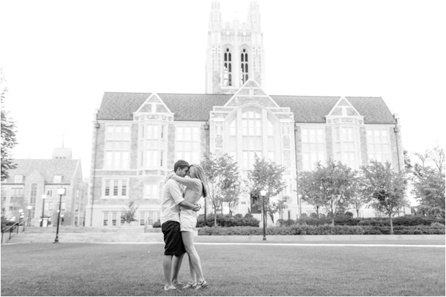 A Boston College Engagement Session