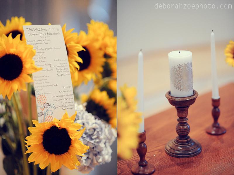 Maine Wedding Photography Maine Wedding Ogunquit Wedding York Wedding DIY Wedding Sunflower Wedding Details  Deborah Zoe Photo003