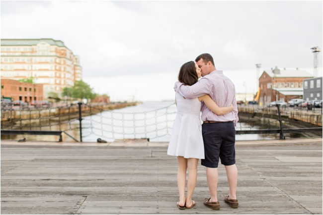 A Charlestown Navy Yard Engagement Session by Deborah Zoe Photography.