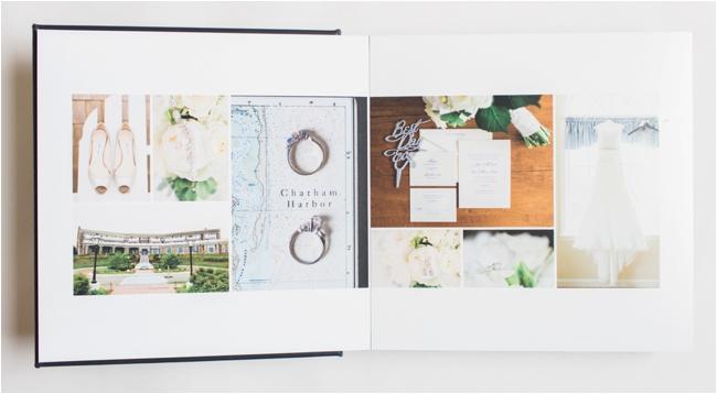 Signature Wedding Album by Deborah Zoe Photography.