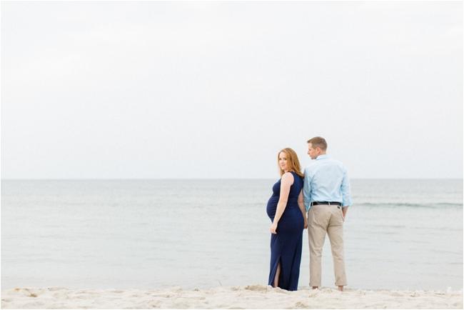 A Crane Beach Maternity Session by Deborah Zoe Photography.