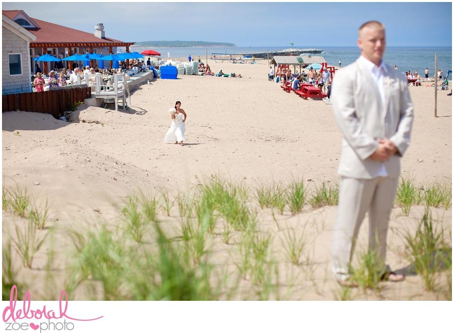 Block Island Wedding Ballards Inn Wedding Block Island Wedding Photographer Block Island Wedding Venue Beach Summer Wedding Outdoor Ceremony Deborah Zoe Photo048