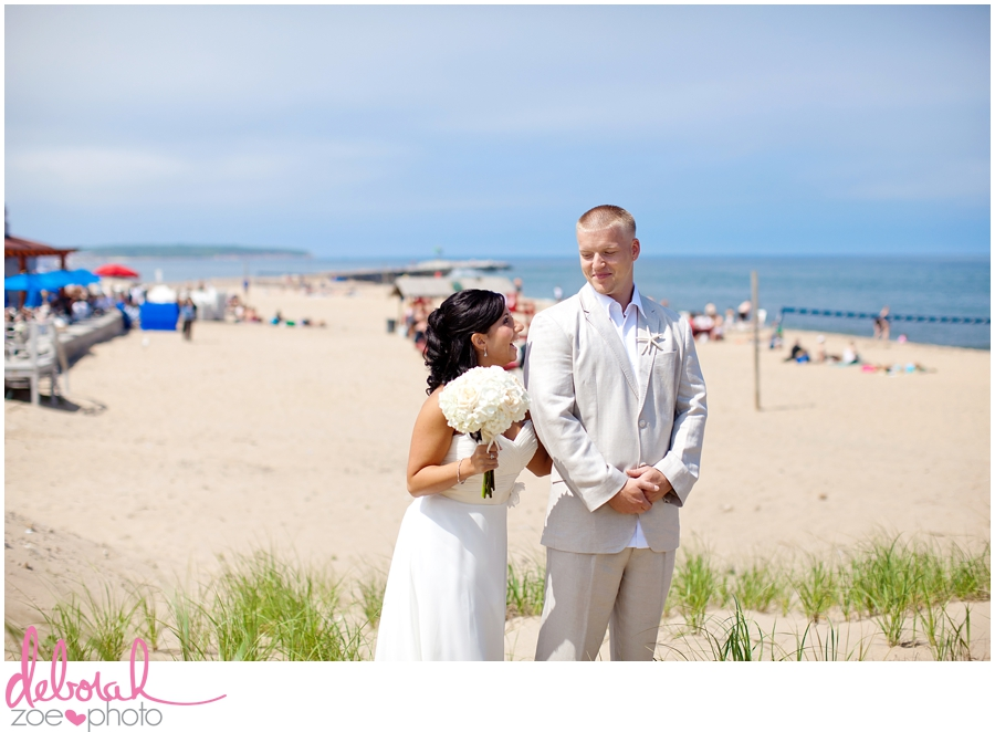 Block Island Wedding Ballards Inn Wedding Block Island Wedding Photographer Block Island Wedding Venue Beach Summer Wedding Outdoor Ceremony Deborah Zoe Photo049