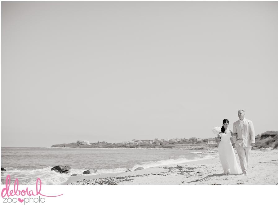 Block Island Wedding Ballards Inn Wedding Block Island Wedding Photographer Block Island Wedding Venue Beach Summer Wedding Outdoor Ceremony Deborah Zoe Photo055