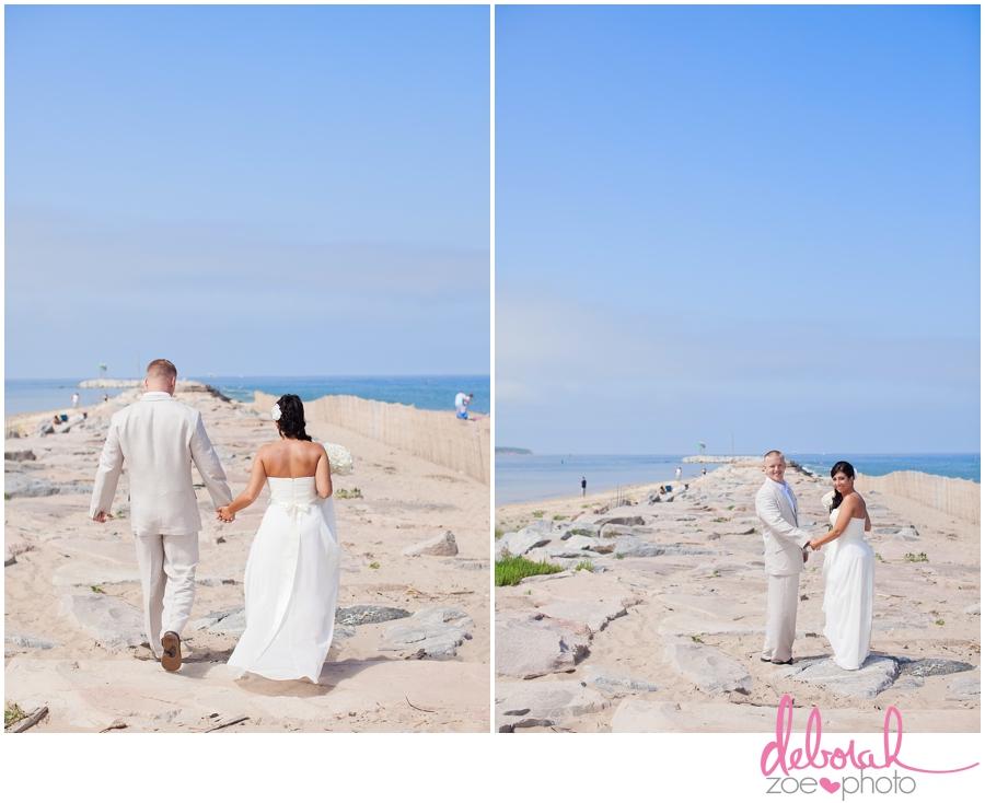 Block Island Wedding Ballards Inn Wedding Block Island Wedding Photographer Block Island Wedding Venue Beach Summer Wedding Outdoor Ceremony Deborah Zoe Photo061