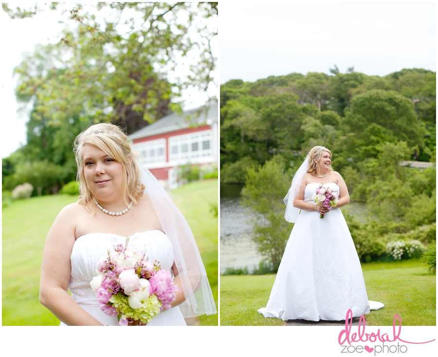 Cape Cod Wedding Massachusetts Wedding Photographer Summer Wedding Outdoor Ceremony Pink Wedding Details Ocean Themed Wedding Coonamessett Inn Wedding Deborah Zoe Photo010