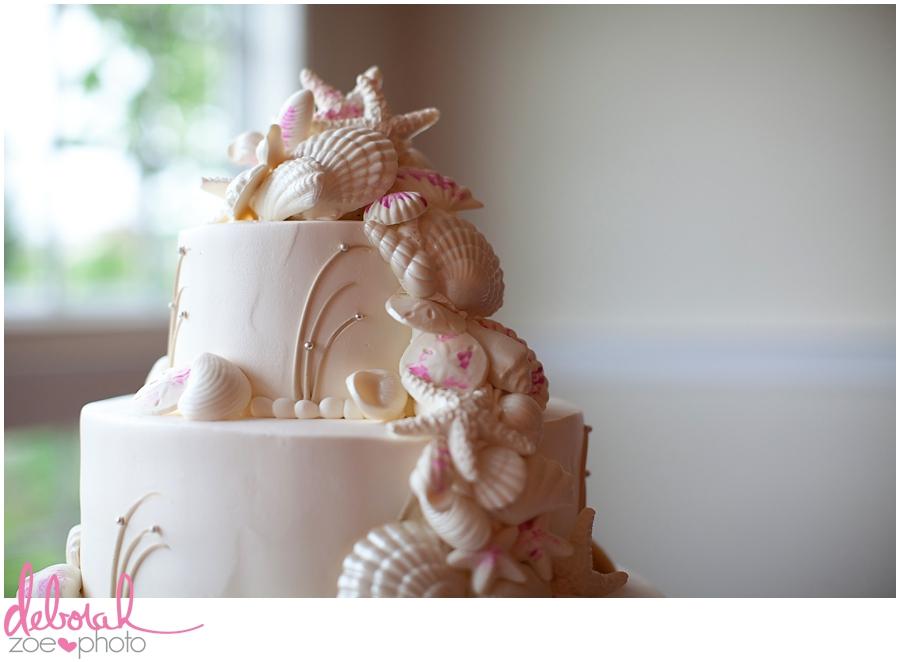 Cape Cod Wedding Massachusetts Wedding Photographer Summer Wedding Outdoor Ceremony Pink Wedding Details Ocean Themed Wedding Coonamessett Inn Wedding Deborah Zoe Photo016