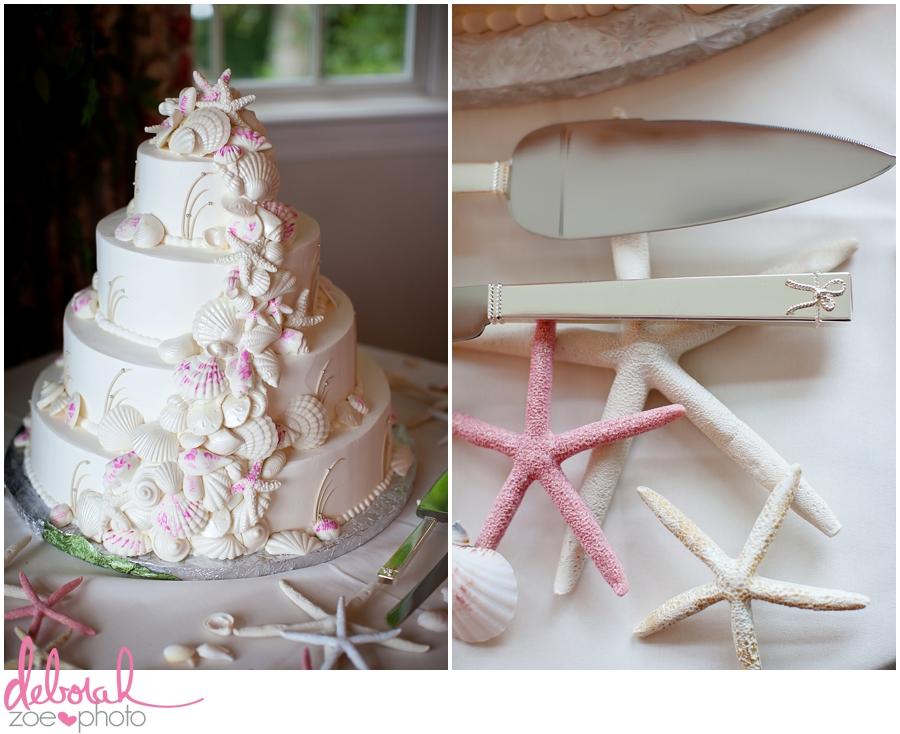 Cape Cod Wedding Massachusetts Wedding Photographer Summer Wedding Outdoor Ceremony Pink Wedding Details Ocean Themed Wedding Coonamessett Inn Wedding Deborah Zoe Photo017