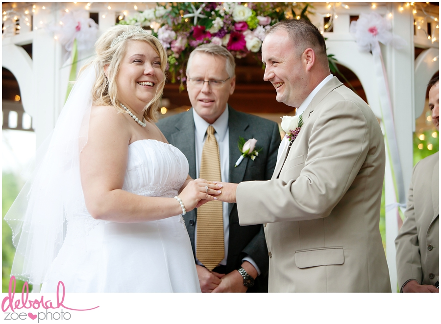 Cape Cod Wedding Massachusetts Wedding Photographer Summer Wedding Outdoor Ceremony Pink Wedding Details Ocean Themed Wedding Coonamessett Inn Wedding Deborah Zoe Photo019
