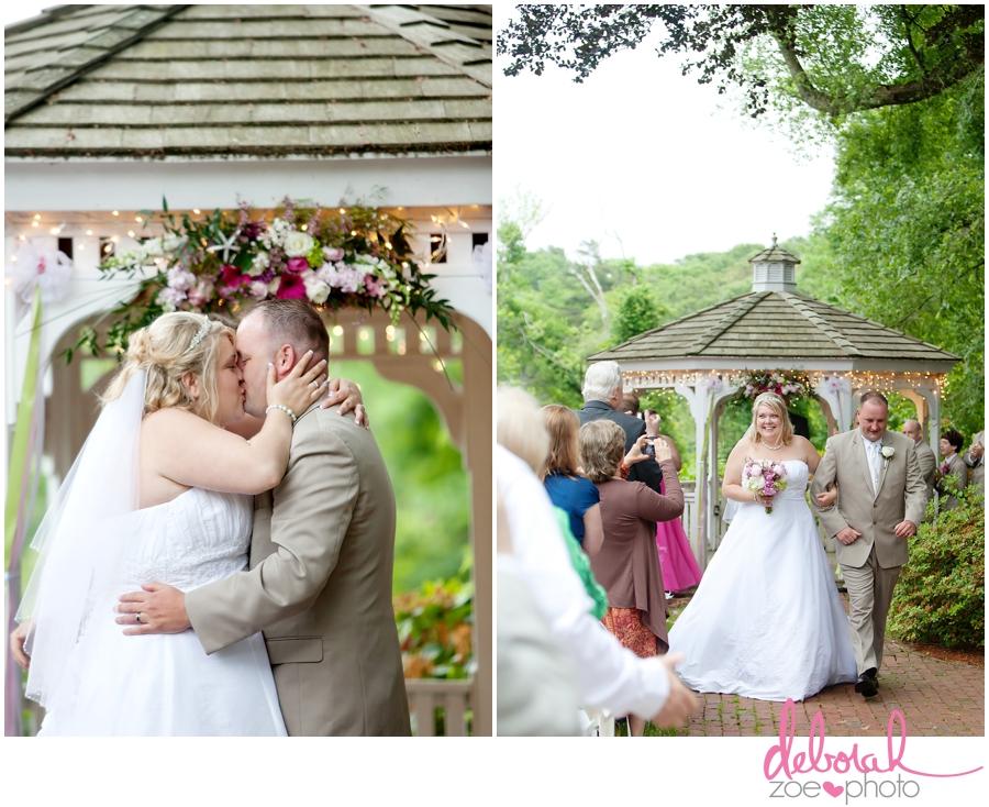Cape Cod Wedding Massachusetts Wedding Photographer Summer Wedding Outdoor Ceremony Pink Wedding Details Ocean Themed Wedding Coonamessett Inn Wedding Deborah Zoe Photo020