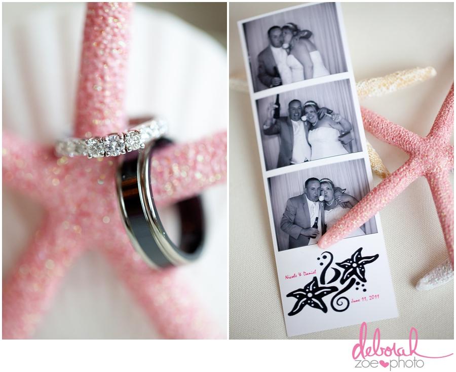 Cape Cod Wedding Massachusetts Wedding Photographer Summer Wedding Outdoor Ceremony Pink Wedding Details Ocean Themed Wedding Coonamessett Inn Wedding Deborah Zoe Photo023