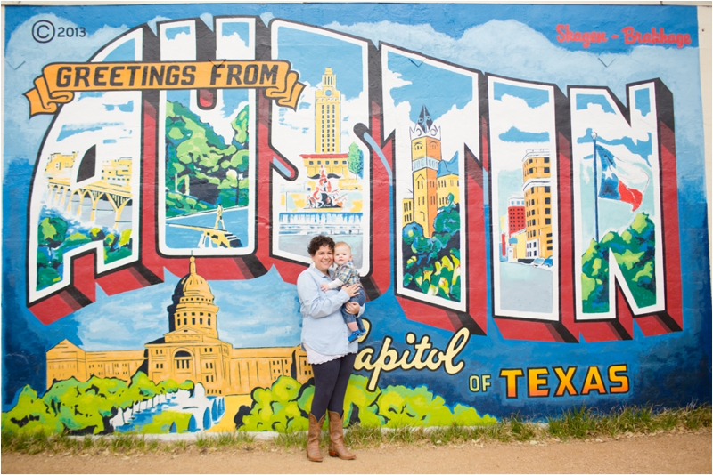 Roadhouse Relics mural in Austin, Texas