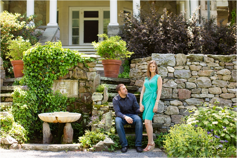 deborah zoe photography blithewold mansion newport engagement session wedding garden engagement0009.JPG