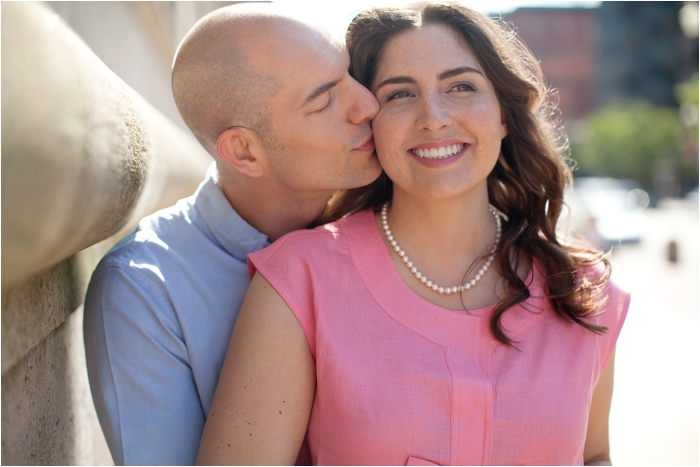 Copley Square Engagement Session