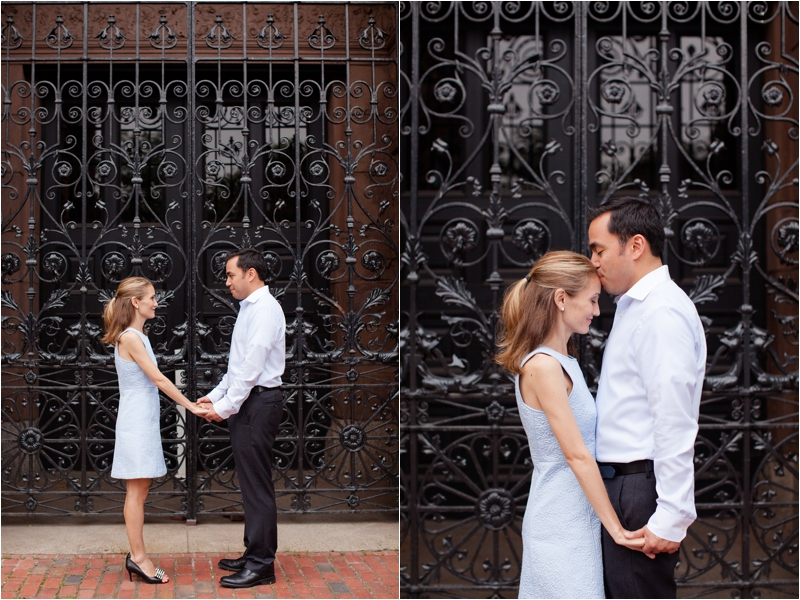 deborah zoe photography boston wedding photographer back bay engagement session boston pedi cab lansdowne pub0025.JPG