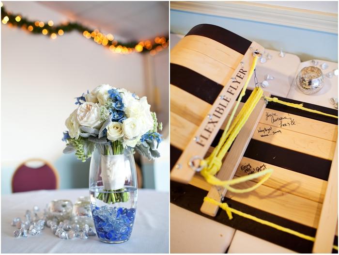 North Conway Wedding New Hampshire Wedding Photographer Winter Wedding Mount Washington Hotel Blue Details New England Wedding Photographer Deborah Zoe Photo0018