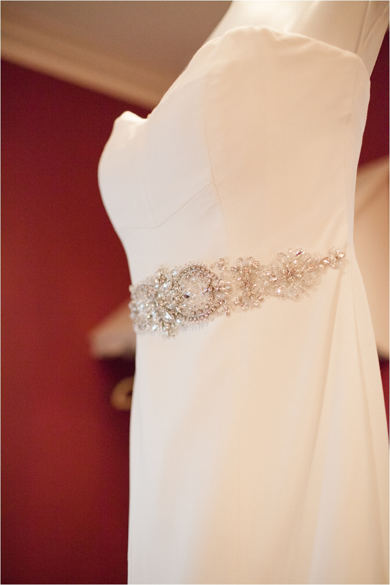 nicole miller wedding gown at the milton hoosic club