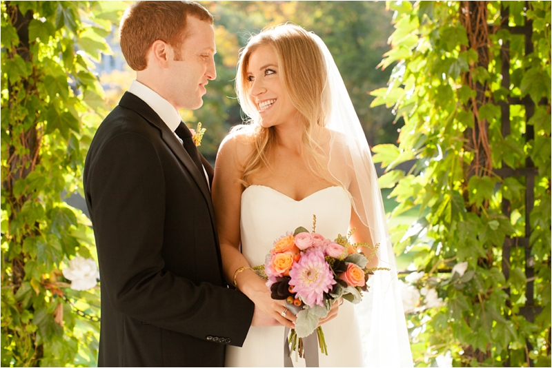bride and groom at the milton hoosic club