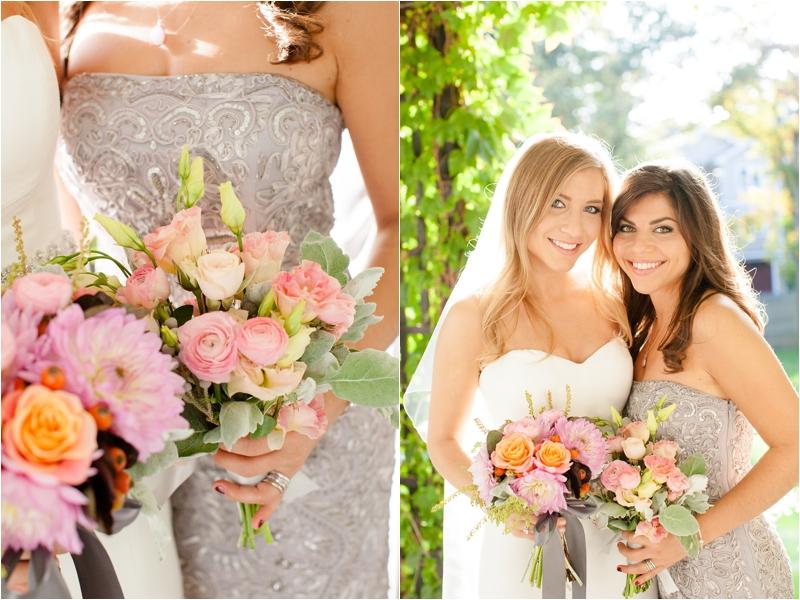 wedding bouquets for a wedding at the milton hoosic club