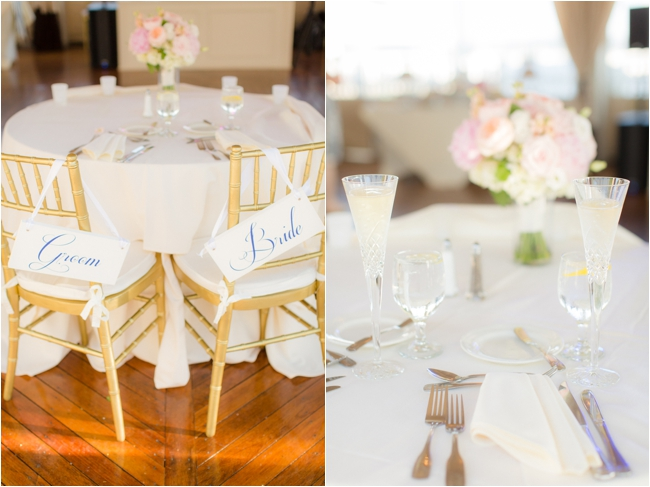 Wedding details at Regatta Place.