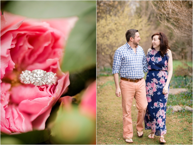 Spring engagement session at Long Hill Estate by Deborah Zoe Photography.