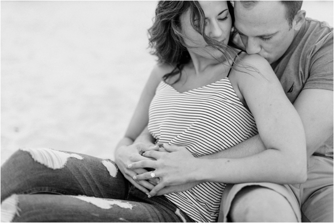 Wingaersheek engagement session in Gloucester photographed by Deborah Zoe Photography.