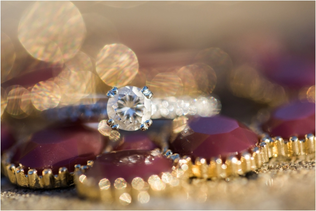 Solitaire engagement ring photographed by Deborah Zoe Photography.