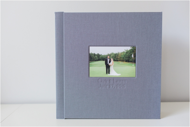The Signature Wedding Album by Deborah Zoe Photography.