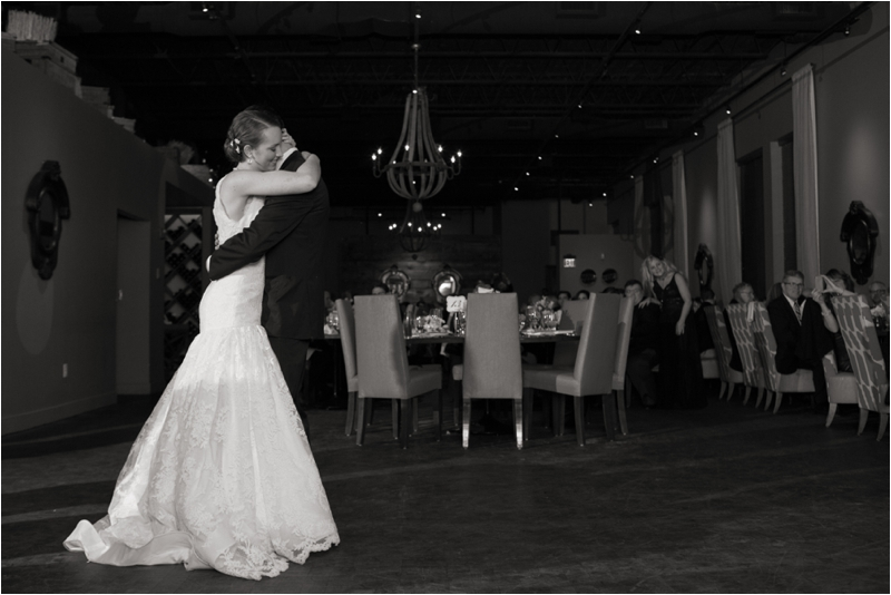 First Dance wedding reception at L'Andana Grill