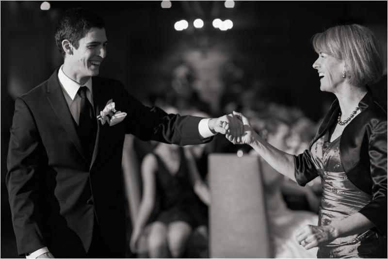 Wedding reception at L'Andana Grill
