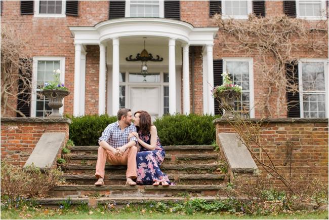 A Long Hill Estate Engagement Session by Deborah Zoe Photography.