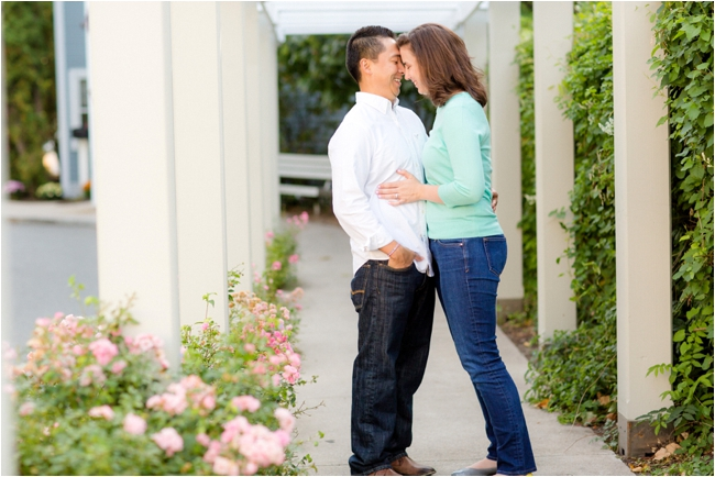 A downtown Marblehead engagement session by Deborah Zoe Photography