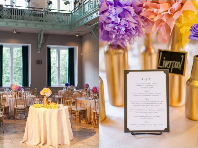 A wedding at the Multicultural Arts Center in Cambridge by Deborah Zoe Photography.